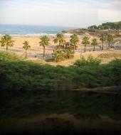 Берег Средиземного моря в  Испании 2